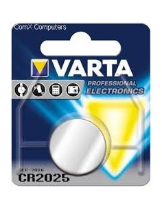 BATTERIA BOTTONE CR2025 VARTA