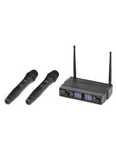 SOUNDSATION WF-D290HH - Radiomicrofono Doppio UHF Digitale / Palmare / Palmare