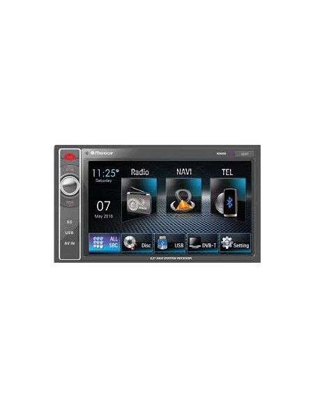 VM020 AUTORADIO 1 DIN USB/SD/AUX IN/CD PHONOCAR