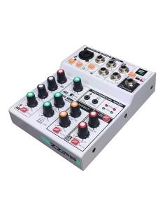 ZZMX3 Mixer 3 canali con lettore MP3 / bluetooth + effetto Delay