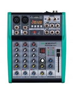 ZZMXBTE4 MIXER COMPATTO 4 CANALI con multieffetto DSP e Bluetooth
