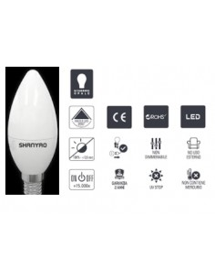 LAMPADA LED  E14 CANDELA...