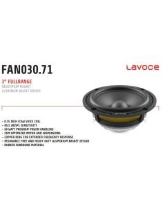 LaVoce FAN030.71 Fullrange...